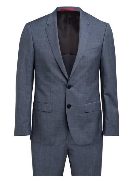 HUGO Anzug HENRY/GRIFFIN Slim Fit, Farbe: GRAU/ BLAU MELIERT (Bild 1)