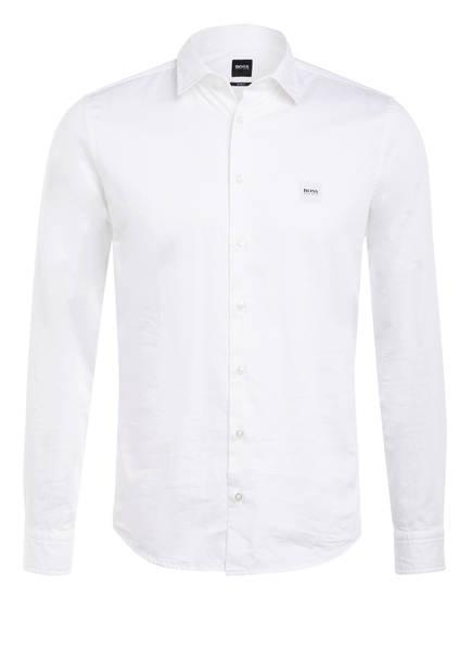 BOSS Hemd MYPOP Slim Fit, Farbe: WEISS (Bild 1)
