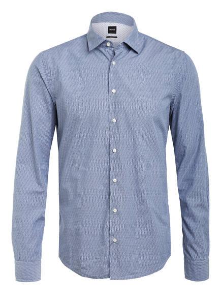 BOSS Hemd MYPOP Slim Fit, Farbe: HELLBLAU/ DUNKELBLAU (Bild 1)