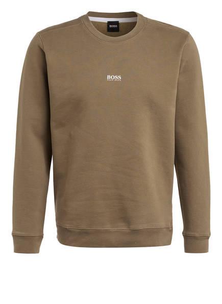 BOSS Sweatshirt WEEVO, Farbe: HELLKHAKI (Bild 1)