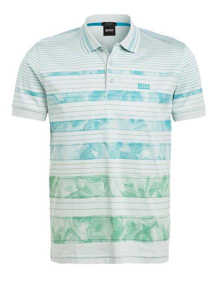 BOSS Jersey-Poloshirt PADDY Regular Fit, Farbe: HELLTÜRKIS/ HELLGRÜN (Bild 1)
