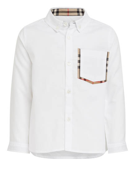 BURBERRY Hemd, Farbe: WEISS (Bild 1)