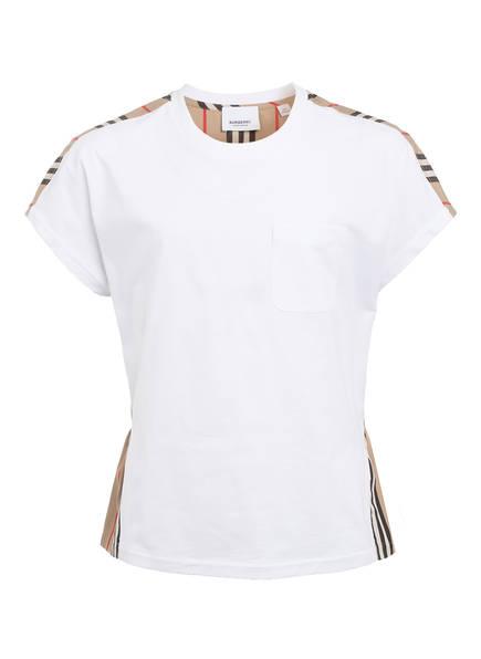 BURBERRY T-Shirt, Farbe: WEISS/ BEIGE/ SCHWARZ (Bild 1)