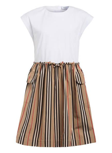 BURBERRY Kleid RAMONA, Farbe: WEISS/ BEIGE/ SCHWARZ (Bild 1)