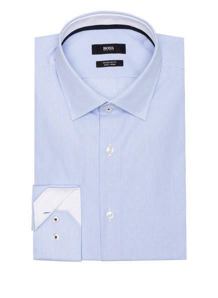 BOSS Hemd GORAN Regular Fit, Farbe: WEISS/ HELLBLAU GESTREIFT (Bild 1)