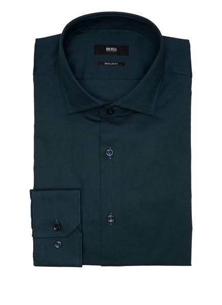 BOSS Hemd GORDON Regular Fit, Farbe: DUNKELGRÜN (Bild 1)