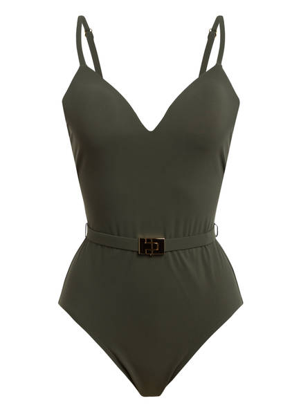TORY BURCH Badeanzug, Farbe: OLIV (Bild 1)
