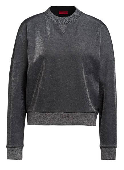 HUGO Sweatshirt NALEINA, Farbe: SCHWARZ (Bild 1)