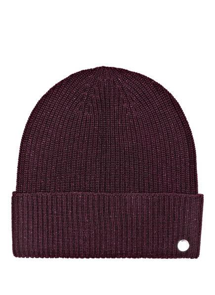 HUGO Set X-MAS Schal und Mütze in Geschenkbox, Farbe: 611 MEDIUM RED (Bild 1)