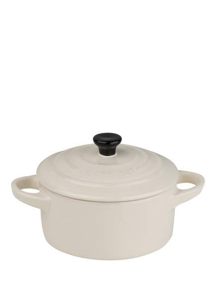 LE CREUSET Mini-Cocotte, Farbe: CREME (Bild 1)