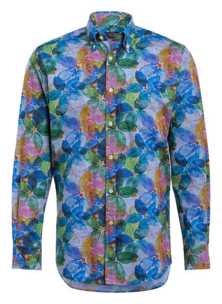 PAUL & SHARK Hemd Regular Fit, Farbe: BLAU/ GELB/ ROSA (Bild 1)