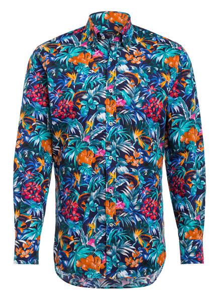 PAUL & SHARK Hemd Regular Fit, Farbe: BLAU/ ORANGE/ TÜRKIS (Bild 1)
