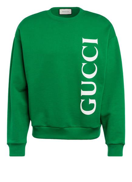 GUCCI Sweatshirt , Farbe: GRÜN/ WEISS (Bild 1)