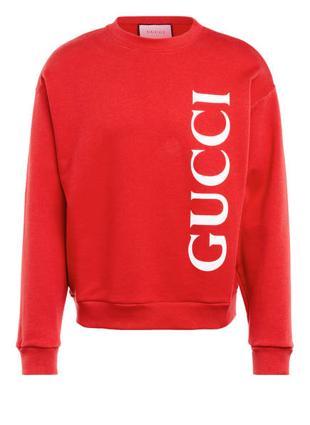 GUCCI Sweatshirt , Farbe: ROT/ WEISS (Bild 1)