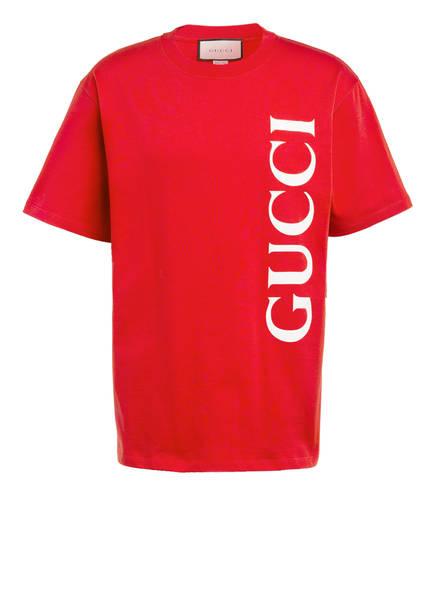 GUCCI Oversized-Shirt , Farbe: ROT/ WEISS (Bild 1)