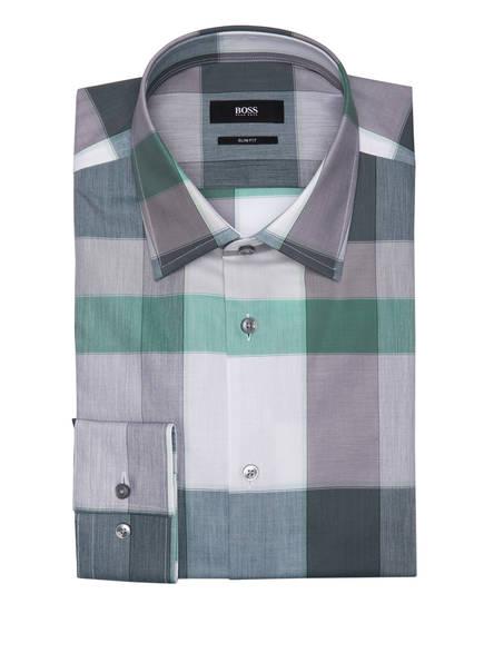 BOSS Hemd JANGO Slim Fit, Farbe: GRÜN/ GRAU/ WEISS KARIERT (Bild 1)