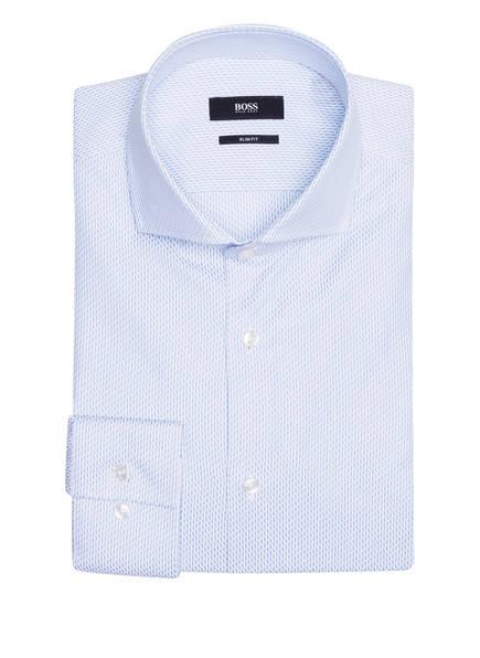 BOSS Hemd JASON Slim Fit , Farbe: WEISS/ HELLBLAU (Bild 1)