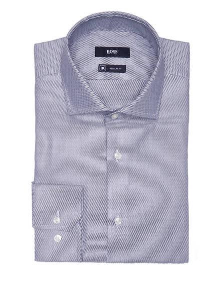 BOSS Hemd GORDON Regular Fit, Farbe: WEISS/ SCHWARZ (Bild 1)