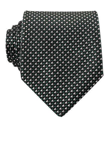 BOSS Krawatte, Farbe: DUNKELGRÜN/ SCHWARZ (Bild 1)