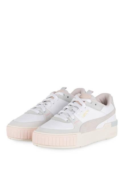 PUMA Plateau-Sneaker CALI SPORT MIX, Farbe: WEISS/ BEIGE (Bild 1)