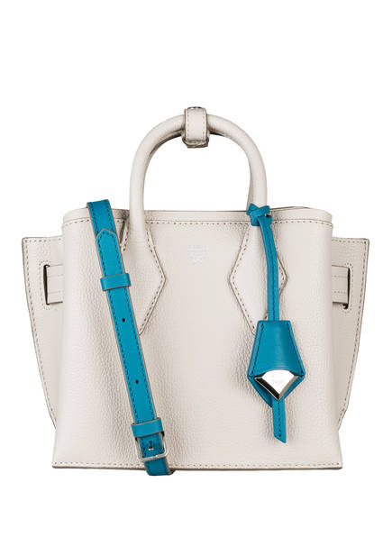 MCM Handtasche NEO MILLA, Farbe: CREME/ PETROL (Bild 1)