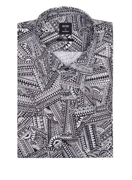 BOSS Hemd JANGO Slim Fit, Farbe: SCHWARZ/ WEISS (Bild 1)