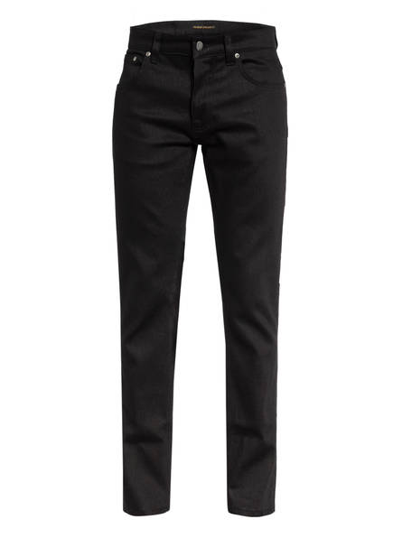 Nudie Jeans Jeans GRIM TIM Slim Fit, Farbe: EVER BLACK (Bild 1)