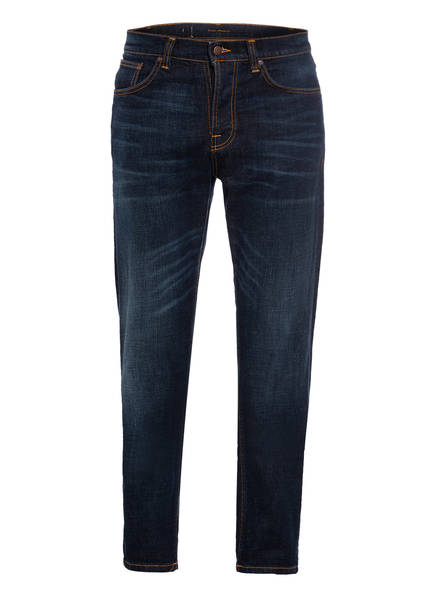 Nudie Jeans Jeans STEADY EDDY Regular Tapered Fit, Farbe: DARK CRUSH DARK BLUE (Bild 1)