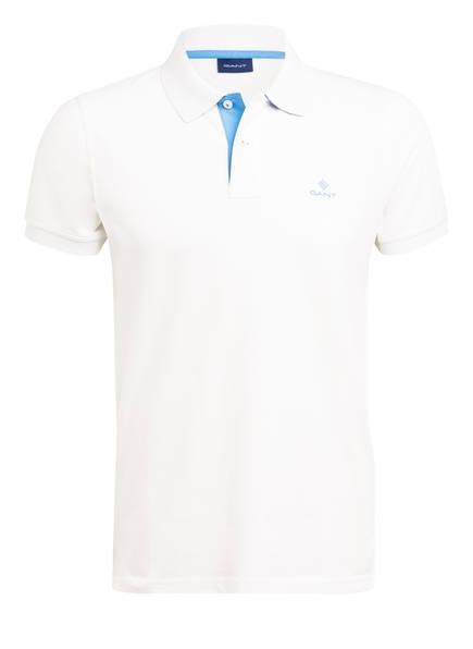 GANT Piqué-Poloshirt Regular Fit, Farbe: WEISS (Bild 1)