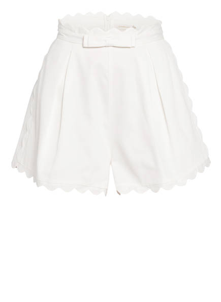 ZIMMERMANN Piqué-Shorts SUPER EIGHT, Farbe: IVORY (Bild 1)