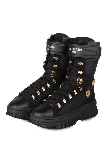 PUMA Hightop-Sneaker DEVA, Farbe: SCHWARZ/ GOLD (Bild 1)