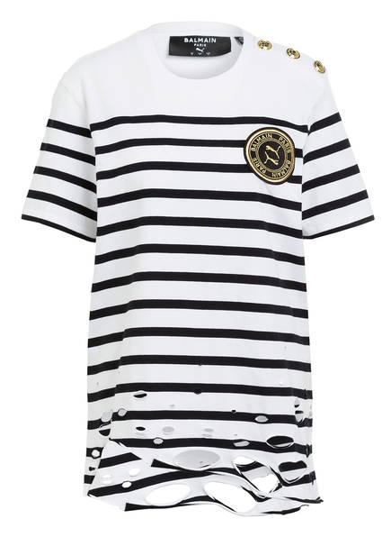PUMA T-Shirt, Farbe: WEISS/ SCHWARZ (Bild 1)