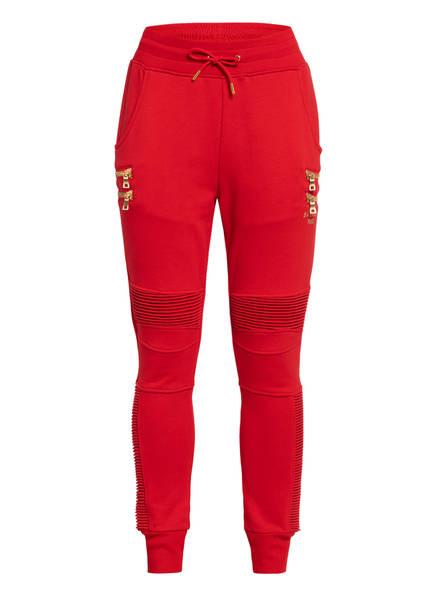 PUMA Hose im Jogging-Stil, Farbe: ROT (Bild 1)