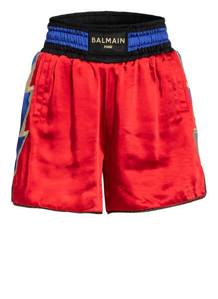 PUMA Shorts mit Galonstreifen, Farbe: ROT/ BLAU/ GOLD (Bild 1)