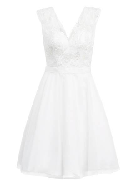 unique Kleid mit Paillettenbesatz, Farbe: WEISS (Bild 1)