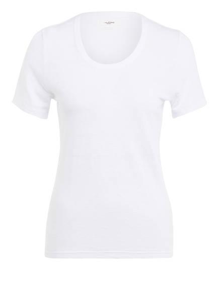 ISABEL MARANT ÉTOILE T-Shirt KILIANN aus Leinen , Farbe: WEISS (Bild 1)