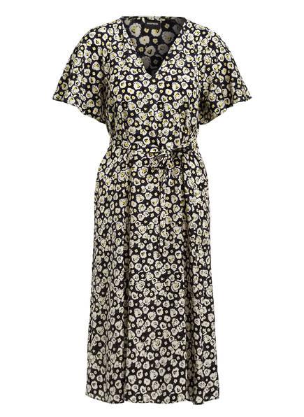 ASPESI Kleid, Farbe: DUNKELBLAU/ ECRU/ GELB (Bild 1)