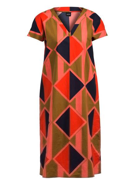 ASPESI Kleid , Farbe: LACHS/ OLIV/ DUNKELBLAU (Bild 1)