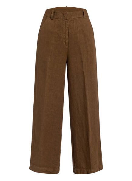 ASPESI 7/8-Hose aus Leinen, Farbe: BRAUN (Bild 1)