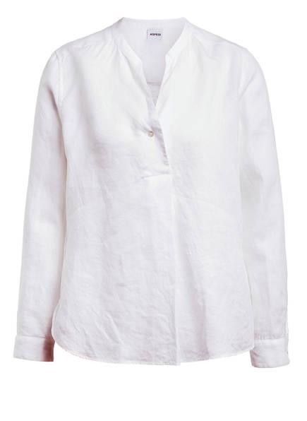 ASPESI Blusenshirt aus Leinen, Farbe: WEISS (Bild 1)