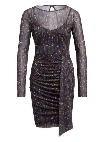PATRIZIA PEPE Kleid , Farbe: SCHWARZ/ OLIV/ LILA (Bild 1)