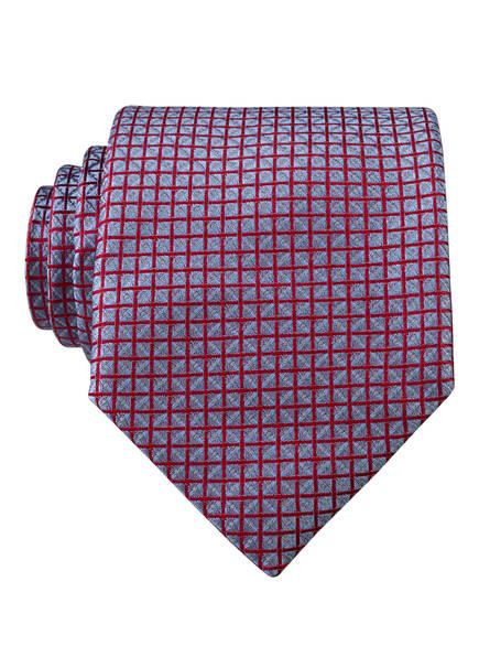 PAUL Krawatte , Farbe: HELLBLAU/ ROT KARIERT (Bild 1)