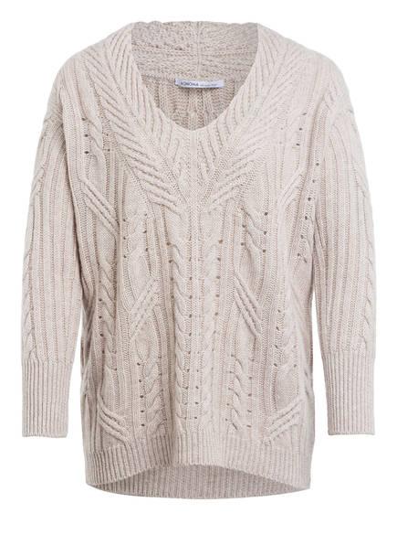 AGNONA Pullover mit Cashmere und Leinen , Farbe: BEIGE (Bild 1)