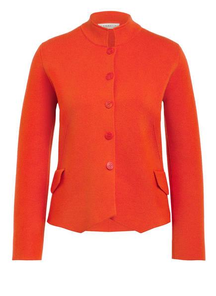 lunaria cashmere Strickblazer aus Cashmere , Farbe: ORANGE (Bild 1)