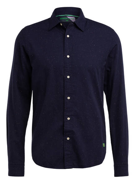 SCOTCH & SODA Hemd Regular Fit, Farbe: DUNKELBLAU (Bild 1)