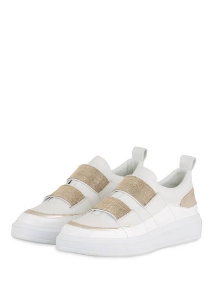 STEFFEN SCHRAUT Slip-On-Sneaker 25 CHAIN , Farbe: WEISS/ GOLD (Bild 1)