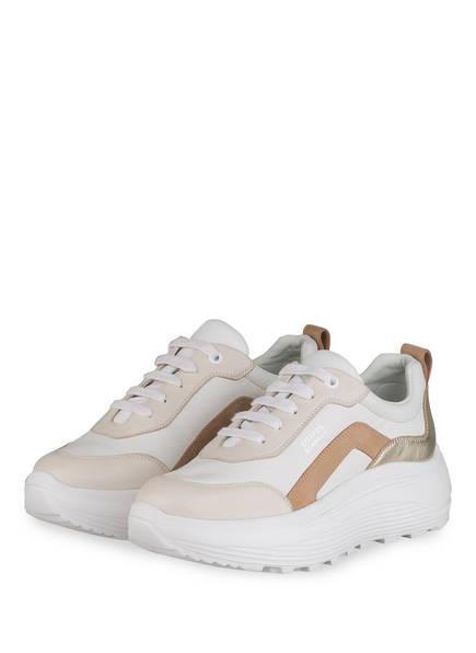 STEFFEN SCHRAUT Plateau-Sneaker 82 NEON AVENUE, Farbe: WEISS/ CREME (Bild 1)
