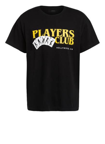 AMIRI T-Shirt PLAYERS CLUB, Farbe: SCHWARZ (Bild 1)