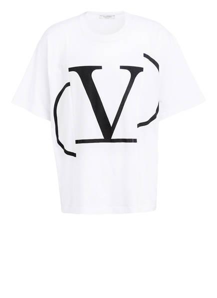 VALENTINO T-Shirt VLOGO, Farbe: WEISS (Bild 1)