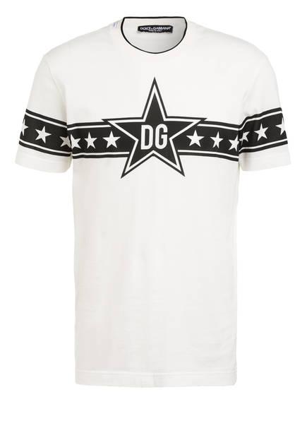 DOLCE&GABBANA T-Shirt , Farbe: WEISS/ SCHWARZ (Bild 1)